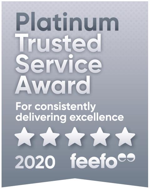 feefo rating logo